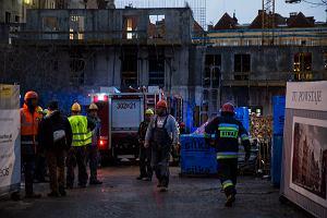 Śmiertelny wypadek na budowie w centrum Gdańska