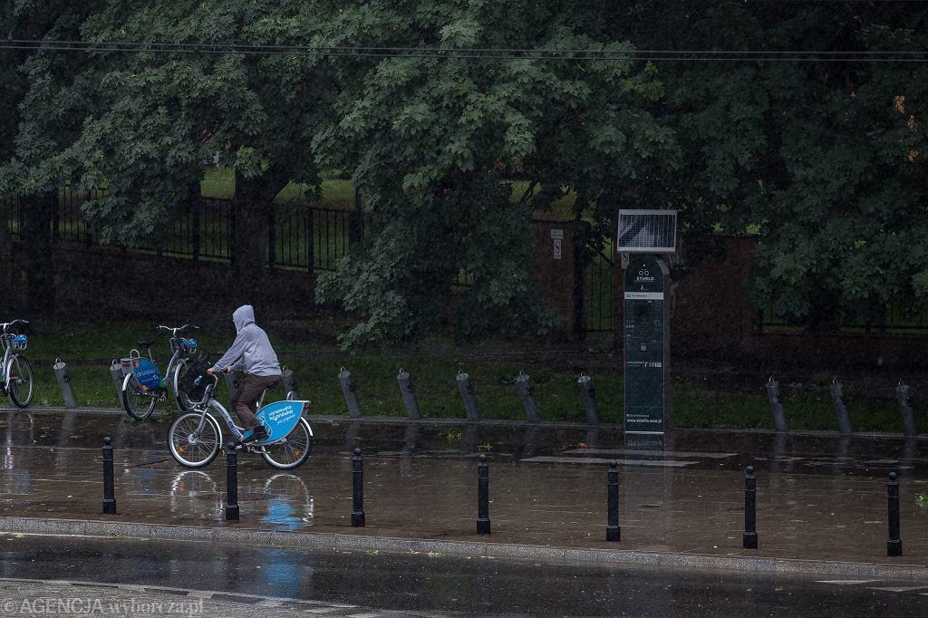 Burza w Warszawie