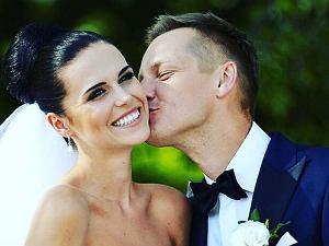 Marcin Mroczek i jego żona Marlena (Muranowicz) Mroczek