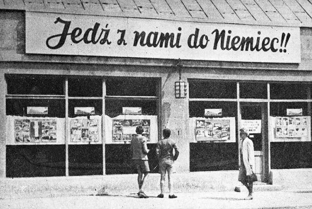 """Nazistowski slogan zachęcał Polaków do pracy w Niemczech. """"Warunki się zmieniły"""""""