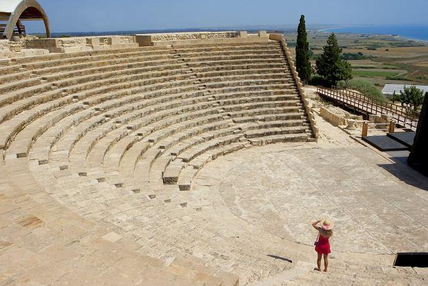 Cypr: Amfiteatr w Kurion / shutterstock