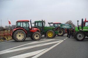 Blokada drogi krajowej pod Siedlcami. Protest rolnik�w
