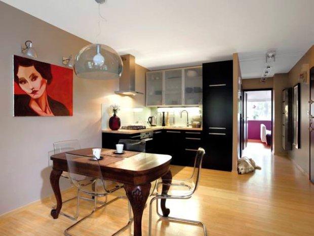 Jaki kolor ścian do brązowych mebli?  zdjęcie nr 3 -> Kuchnia Brązowe Meble Jaki Kolor Ścian