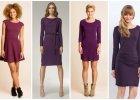 Fioletowe sukienki - kolorystyczny hit na jesie�