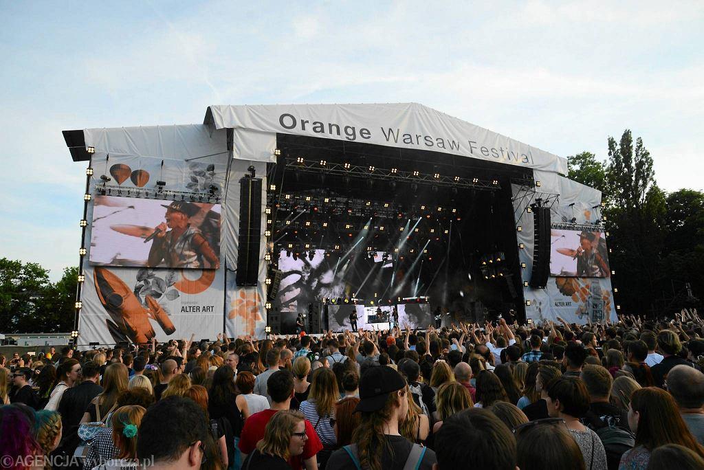 Skunk Anansie na scenie Orange Warsaw Festival / FRANCISZEK MAZUR