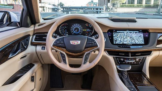 Cadillac CT6   Szach mat, niemiecka klaso premium