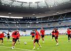 Trening piłkarzy reprezentacji Polski przed meczem z Niemcami na Stade de France w Paryżu