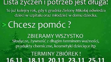 Zielony Radomiak ponownie odwiedzi potrzebujące osoby