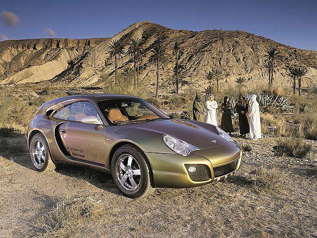 Bedouin bazuje na Porsche 911 Carrera Turbo
