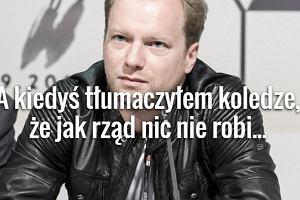 Tak trafnego komentarza do politycznych wydarze� w Polsce dawno nie by�o. Co napisa� Maciej Stuhr?