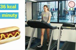 Ile czasu biec, żeby spalić hamburgera, frytki, hot doga czy pizzę