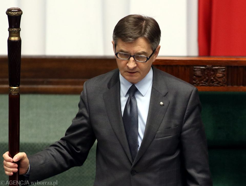 Marszałek Sejmu, z nadania PiS Marek Kuchciński