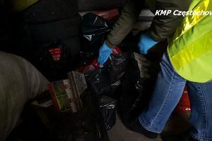 Policja z Częstochowy przejęła ponad 20 tys. papierosów bez akcyzy