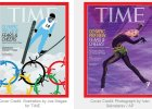 """Dwa oblicza igrzysk w Soczi na ok�adkach """"Time"""". Na ca�ym �wiecie pi�kna �y�wiarka, w USA drut kolczasty"""