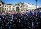 Tysi�ce krakowian manifestowa�o w obronie Trybuna�u i demokracji