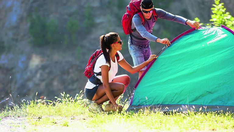Korzystaj z namiotu z klasą!