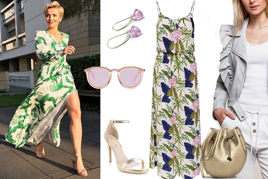 d5a3410347 Maxi sukienka na różne okazje - jedna sukienka i dwie stylizacje ...