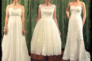 Suknia �lubna - pan m�ody decyduje, panna m�oda przymierza [ZDJ�CIA]