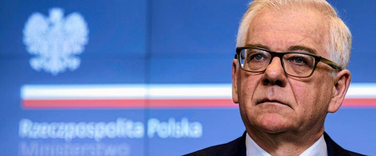 Czaputowicz o decyzji unijnego trybunału: ''Konieczna nowelizacja ustawy o Sądzie Najwyższym''