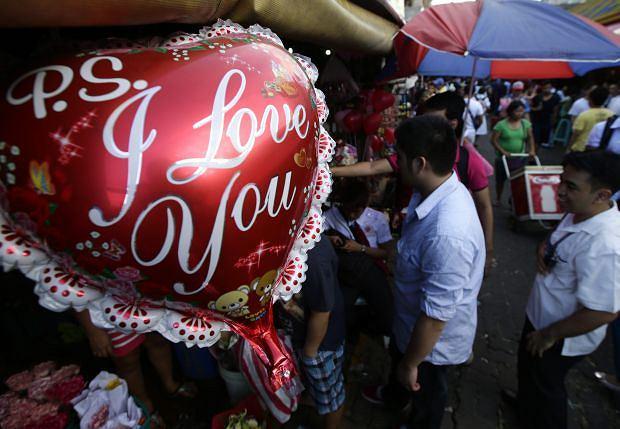 Walentynki, Filipiny.