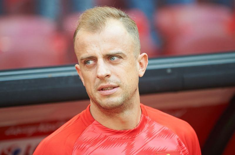 Kamil Grociski wdał się w awanturę z kibicami