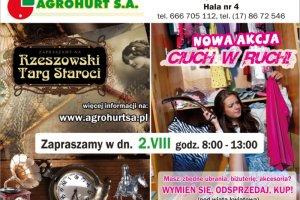 """Targ Staroci i akcja """"Ciuch w ruch"""" w niedziel� w AgroHurcie"""