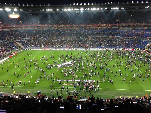 Zamieszki w Lyonie