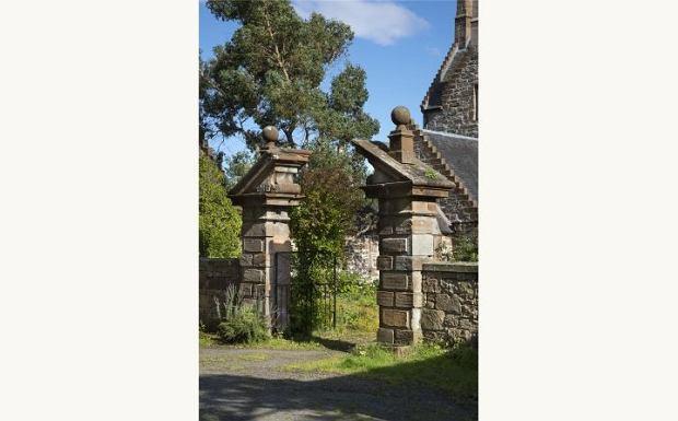 Barokowa brama wjazdowa