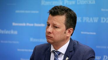 Konferencja prasowa Rzecznika Praw Dziecka w Warszawie