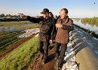 """Premier o zagrożeniu powodzią: """"Może uda się uniknąć czarnego scenariusza"""". Najgorzej na Żywiecczyźnie"""
