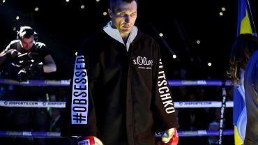 Władimir Kliczko przed walką z Anthonym Joshuą.