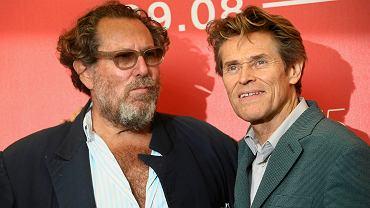 Reżyser Julian Schnabel i Willem Dafoe, który w 'At Eternity's Gate' gra Vincenta van Gogha