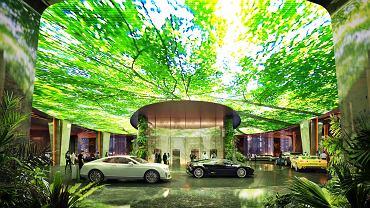 Na �rodku pustyni zbuduj� hotel z lasem deszczowym w �rodku. Pierwszy na �wiecie [ZDJ�CIA]