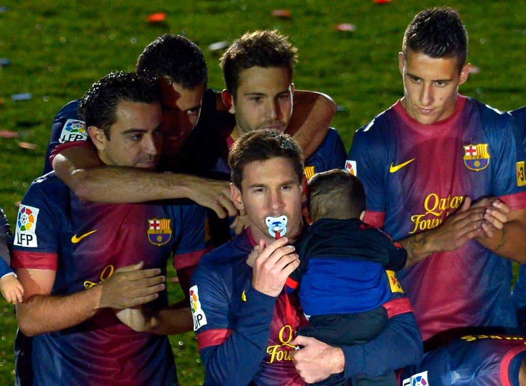 Barcelona świętuje kolejne mistrzostwo Hiszpania