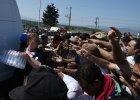 Polska ci�ar�wka zderzy�a si� z samochodem na S�owacji. Przewozi�a 23 Syryjczyk�w