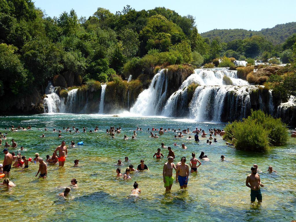 Wodospady w Parku Narodowym Krka