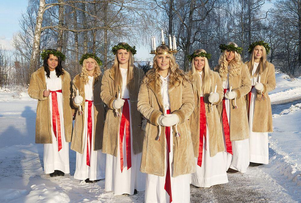 Obchody Dnia św. Łucji odbędą się w sobotę pod ambasadą Szwecji / Fot. materiały prasowe