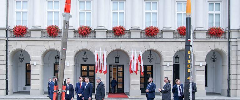 Andrzej Duda wierzy, że Polska będzie potęgą kosmiczną. ''Wyścig technologiczny pcha ludzkość''
