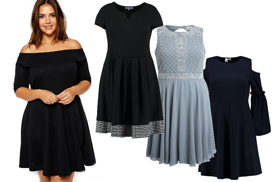 aa8387d06a Sukienki dla pań o pełniejszych kształtach