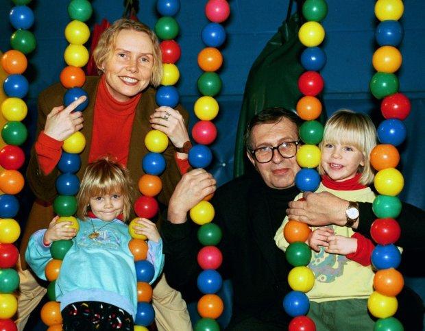 Ewa B�aszczyk, c�rki Aleksandra, Marianna, Jacek Janczarski