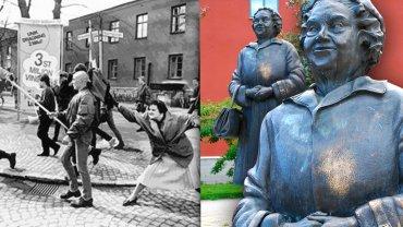 Szwedzi spierają się o pomnik Danuty Danielsson. Widoczna na zdjęciu rzeźba autorstwa Susanny Arwin znajduje się na kampusie w Växjö