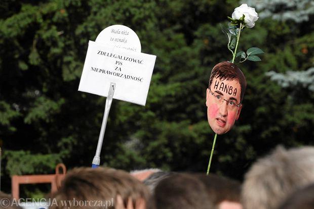 Tak Polacy protestowali w obronie sądów