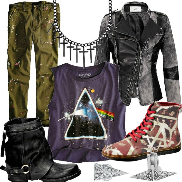 Punkowe ubrania i dodatki na każdą kieszeń