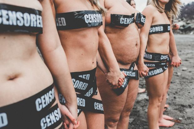 Kanadyjki protestują przeciwko zakazowi pokazywania kobiecego ciała w serwisach społecznościowych