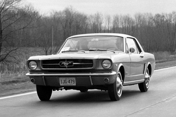 Ford Mustang I - 1964 rok
