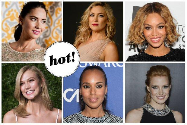 Znikaj�ce w�osy Beyonce, metamorfoza s�ynnej modelki i zjawiskowa Kate Hudson. Makija�e i fryzury z czerwonego dywanu