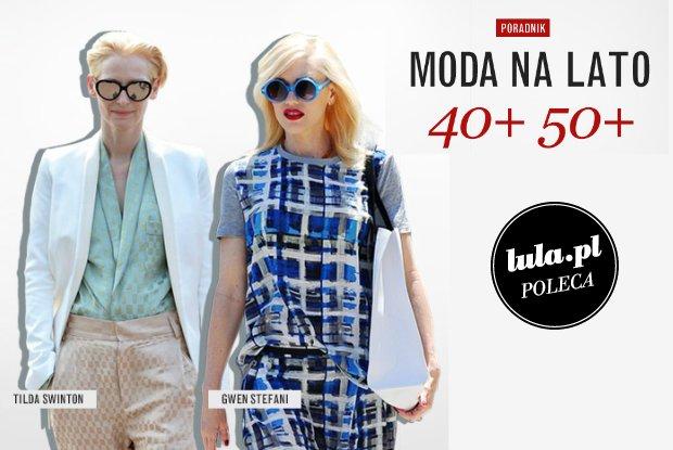 Moda na lato dla kobiety 40+ 50+ [PORADY]