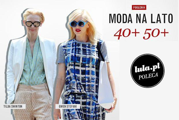 4c30a1ef11 Moda na lato dla kobiety 40+ 50+  PORADY