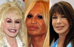 Hunter Tylo, Donatella Versace, Dolly Parton