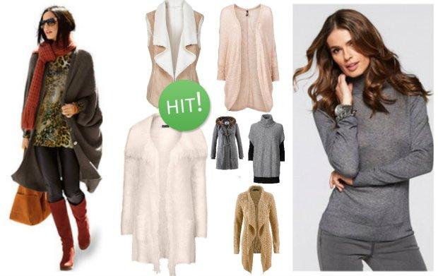Jesienne nowości Bonprix - zobacz najnowsze kurtki, kamizelki i swetry